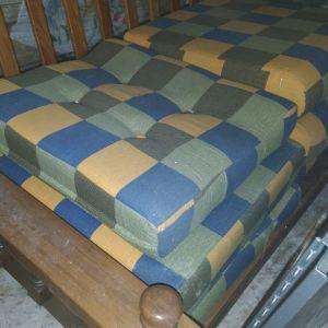 καναπές τετραθέσιος στιλ ρουστικ
