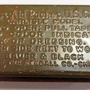 συλλεκτικό μεταλλικό κουτάκι του αμερικάνικου στρατού, Β' Παγκοσμίου Πολέμου