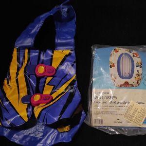 Πωλείται Φουσκωτή Βάρκα DISNEY (SOLAFLEX) & Σωσίβιο Γιλέκο Παιδικό| ΚΑΙΝΟΥΡΙΑ!