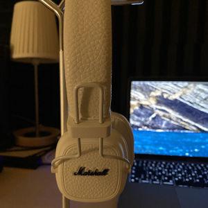Marshall Major III Bluetooth Ασύρματα On Ear Ακουστικά Λευκά