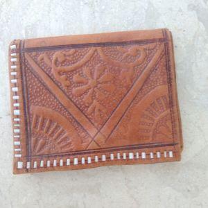 Καφέ πορτοφόλι