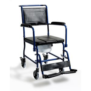 Αναπηρικο Αμαξιδιο μπάνιου με δοχειο wc