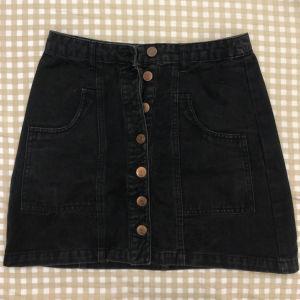 Μαύρη τζιν φούστα
