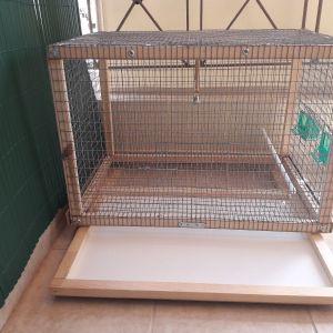 Κλουβια για πουλια με κουνελοσυρμα!!!