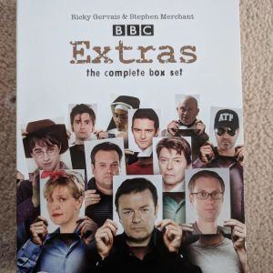 Ricky Gervais DVD: Συλλογή LIVE και EXTRAS the complete series