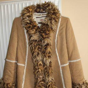 Miss Sixty Boho Fur Coat