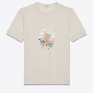 Brand new nude Saint Laurent t-shirt
