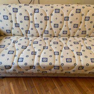 Καναπές κρεββάτι με μπράτσα και αποθηκευτικό χώρο