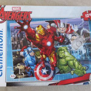 Παζλ Marvel Avengers 104 κομματια