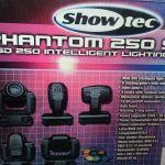 Moving head Showtec Phantom 250 spot
