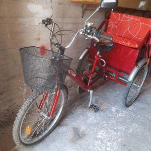 Τρίκυκλο ποδήλατο SECTOR
