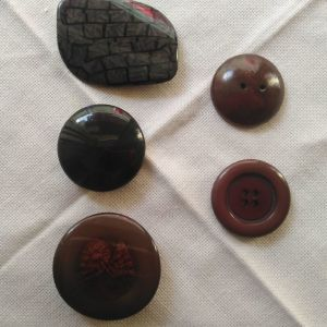 5 Vintage κουμπιά