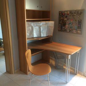 Πωλείται Γραφείο-Βιβλιοθήκη NEOSET & καρέκλα γραφείου σε άριστη κατάσταση.
