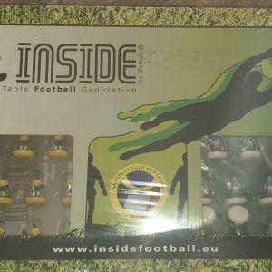 Subbuteo inside world cup 2010 ΜΑΖΙ ΜΕ 7 ΟΜΑΔΕΣ  ARGENTINA, BARCELONA, MILAN, LIVERPOOL, JUVENTUS, HOLLAND, OLYMPIACOS.