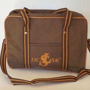 Vintage σχολική τσάντα 1980s LYC-SAC