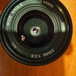 Φακος Vivitar manual focus 28mm  f2.8