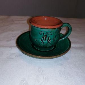 Vintage  ποτήρι καφέ