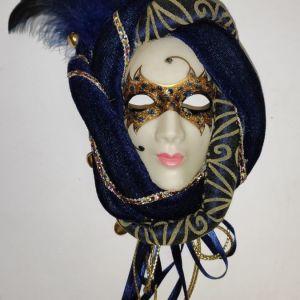 Handmade Venetian Masquerade Mask 2 - Made in Italy