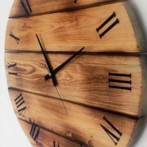 Χειροποίητο ρουστικ ρολόι τοίχου