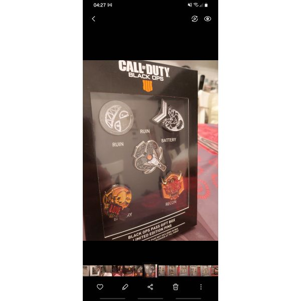 polite Call of Duty Black Ops gift box