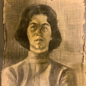 Εκπληκτική προσωπογραφία παλαιά γνωστής ζωγράφου