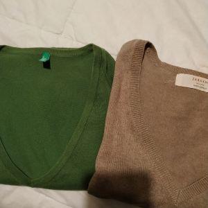 2 βαμβακερά πουλοβερ