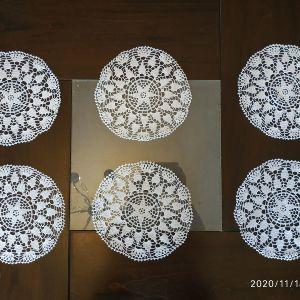 Σετ 6 κυκλικά πλεκτά