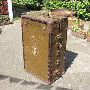 Βαλίτσα ταξιδίου μάρκας VERTEX του οίκου Selfridge's London, της δεκαετίας 1920