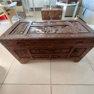 Σετ αντίκες ξύλινο κουτί