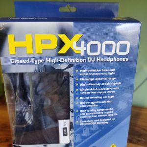 Behringer HPX4000 Ενσύρματα Over Ear DJ Ακουστικά Μαύρα