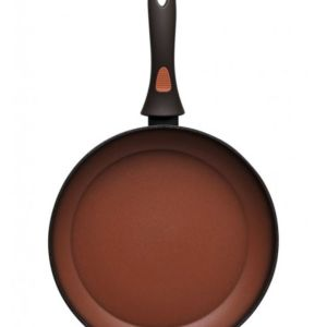 Αντικολλητικο τηγανι 28cm σε χρωμα τερακοτα
