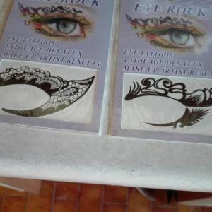 Προσωρινό tattoo ματιών (μάσκα)
