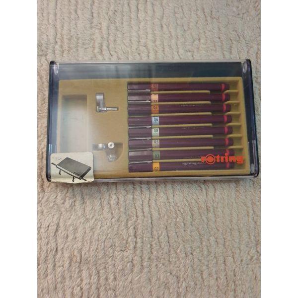 sillektiki kasetina me stilo schediou Rotring 2000