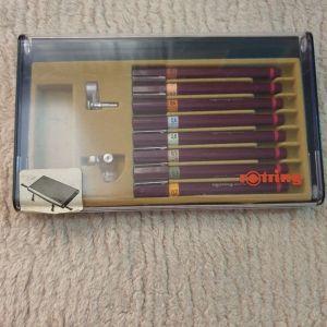 Συλλεκτική κασετίνα με στυλό σχεδίου Rotring 2000