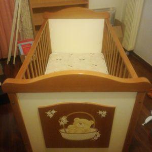 Πολυμορφικό βρεφικό - παιδικό κρεβάτι