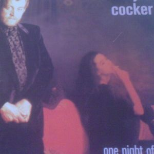 JOE COCKER ....one night of sin &JOE COCKER..... COCKER  lp vinyl 33rpm EMI gr
