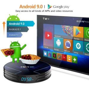 TV BOX ΧΩΡΙΣ Συνδρομές ( ΦΟΥΛ ΣΕΤΑΡΙΣΜΕΝΟ) HK1 X3 Amlogic S905X3 4GB RAM  32GB ROM 1000M LAN 5G WIFI - CPU: Amlogic S905X3 64-bit quad core ARM Cortex A55 CPU bluetooth 4.0 4K 8K Android 9.0 TV Box
