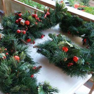 Χριστουγεννιάτικη γιρλάντα-2