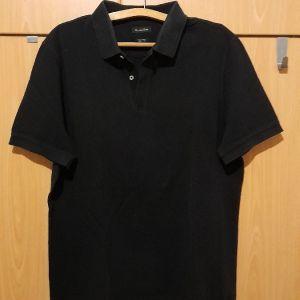 Μπλουζα αντρικη Massimo Dutti μαυρη
