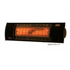 Υπέρυθρο κεραμικό Irida/FSR 1000w Ασημί με επίτοιχο θερμοστάτη χώρου