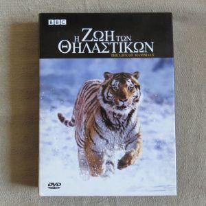 BBC Η ζωη των θηλαστικων 4 DVD