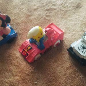 Συλλεκτικά αυτοκινητάκια με ηρωες από κομικς