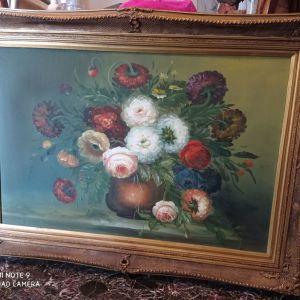 Πίνακας Λουλουδιών, Διαστάσεις 1,13cmΧ0,83cm