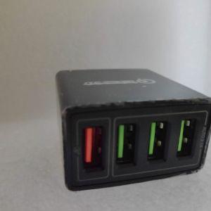 Ταχυφορτιστης Qualcomm 48W USB 4 Θεσεων