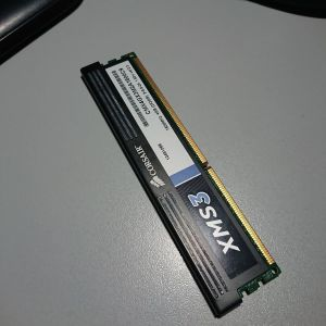 CORSAIR XMS3 DDR3 2GB // CMX4GX3M2A1600C9 // 2GB (1.65V) // ΜΝΗΜΗ RAM