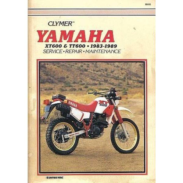 YAMAHA XT600-TT600 Manual tis CLYMER