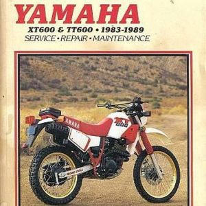 YAMAHA XT600-TT600 Manual της CLYMER