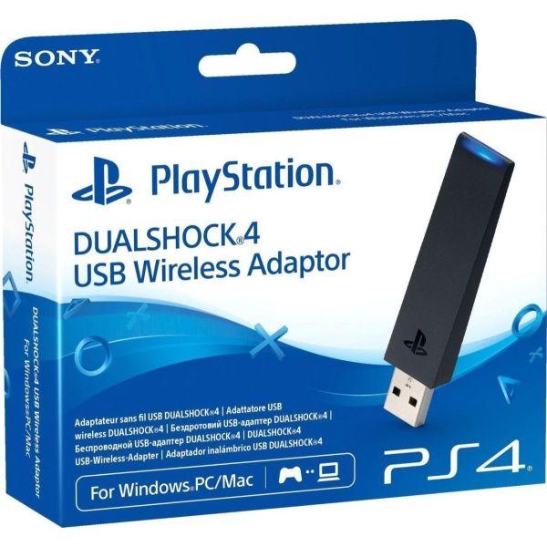 Sony DualShock 4 DS4 USB Wireless Adaptor gia PC/Mac (Remote Play app)