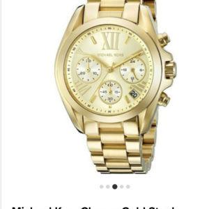 Ρολόι Michael Kors chrono gold steel 5798