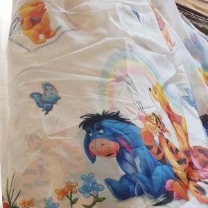 Κουρτίνα για παιδικό δωμάτιοWinnie the Pooh .Οι διαστάσεις είναι:1.30*2.50.
